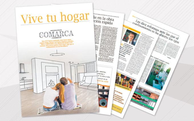 El periódico La COMARCA viene acompañado este viernes de la revista especial 'Vive tu hogar'
