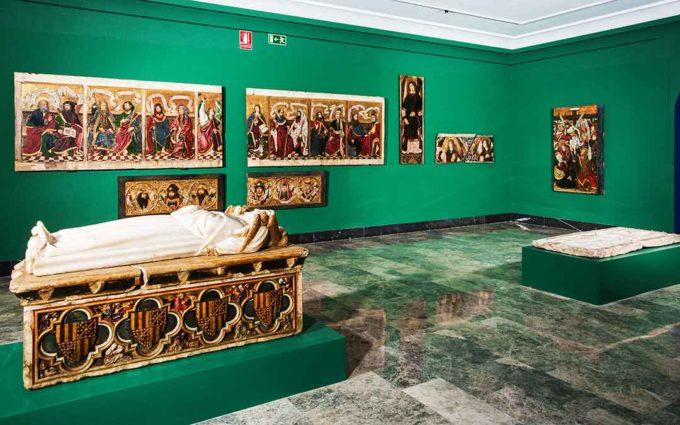 El sepulcro de Pedro Fernández señor de Híjar recién restaurado se exhibirá próximamente al público