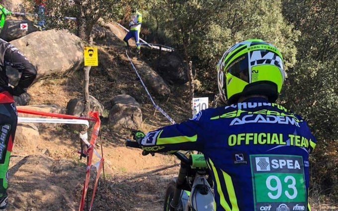 Sergio Puyo logra una cuarta posición en TR3 en la última prueba del campeonato de España de trial