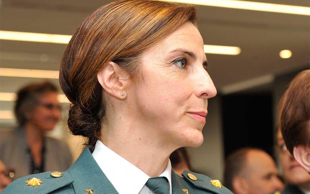 La teniente coronel Silvia Gil dirigirá la Comandancia de Teruel./ Ministerio del Interior