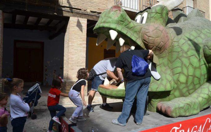 Alcañiz contará con su propio tragachicos en forma de dragón