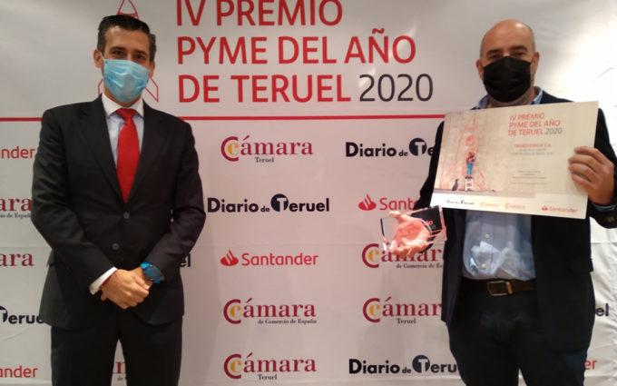La  empresa bajoaragonesa Transverich concurrirá por Teruel al Premio Nacional Pyme 2020