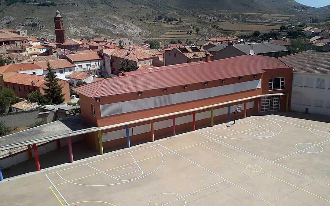 C.E.P. Villa de Utrillas, uno de los centros educativos con los que cuenta la capital de Cuencas Mineras./ Ayto. Utrillas