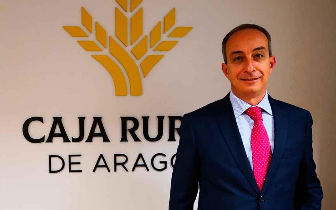 Basilio Rodríguez, director territorial de Zaragoza provincia de Caja Rural de Aragón