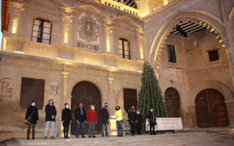 Alcañiz enciende la Navidad estrenando iluminación