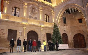 Alcañiz enciende la Navidad estrenando iluminación por toda la ciudad