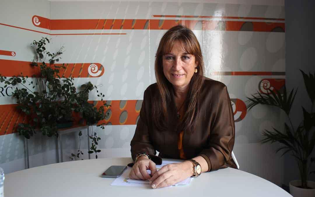 Sira Repollés este lunes en La Comarca / LAURA CASTEL