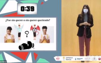 La alcañizana Andrea Ariño, primer accésit en el concurso 'Tesis en 3 minutos'