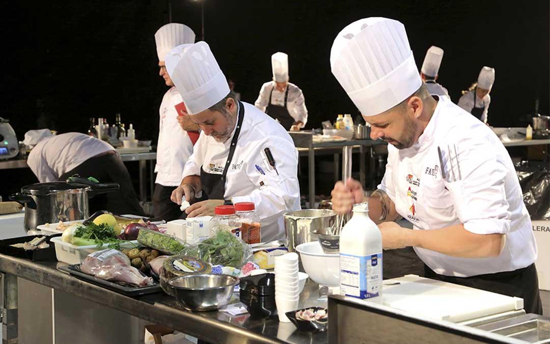 Certamen Nacional de Gastronomía. / Asociación de Cocineros de Aragón.