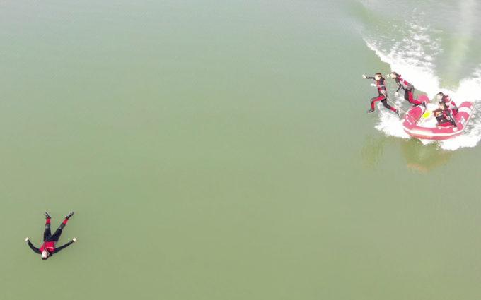 Los bomberos de la DPT contarán con un grupo especializado en pilotaje de drones