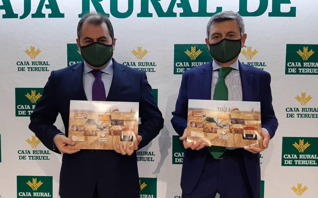 David Gutiérrez, director general de Caja Rural de Teruel, y Ángel Espinosa, director del Área de Negocio./ Caja Rural de Teruel