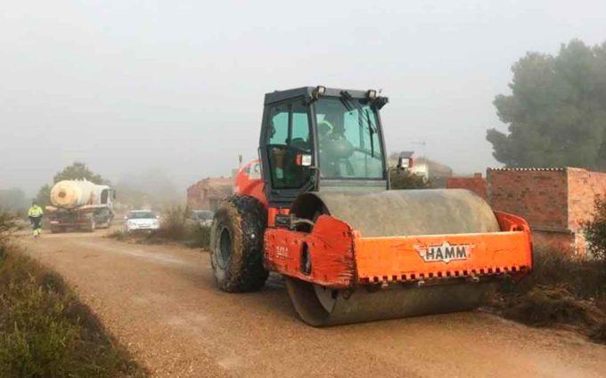 Caspe arregla sus caminos con una inversión de más de 300.000 euros