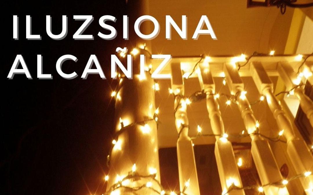 Cartel anunciador del concurso navideño en Alcañiz