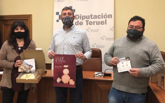 Doscientas personas participarán en una Cata de Quesos de Teruel Online