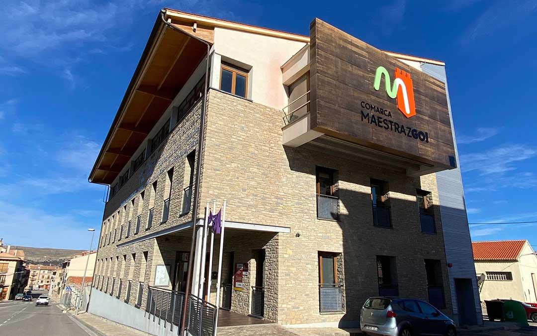 Sede de la Comarca del Maestrazgo, en la localidad de Cantavieja./ Alicia Martín