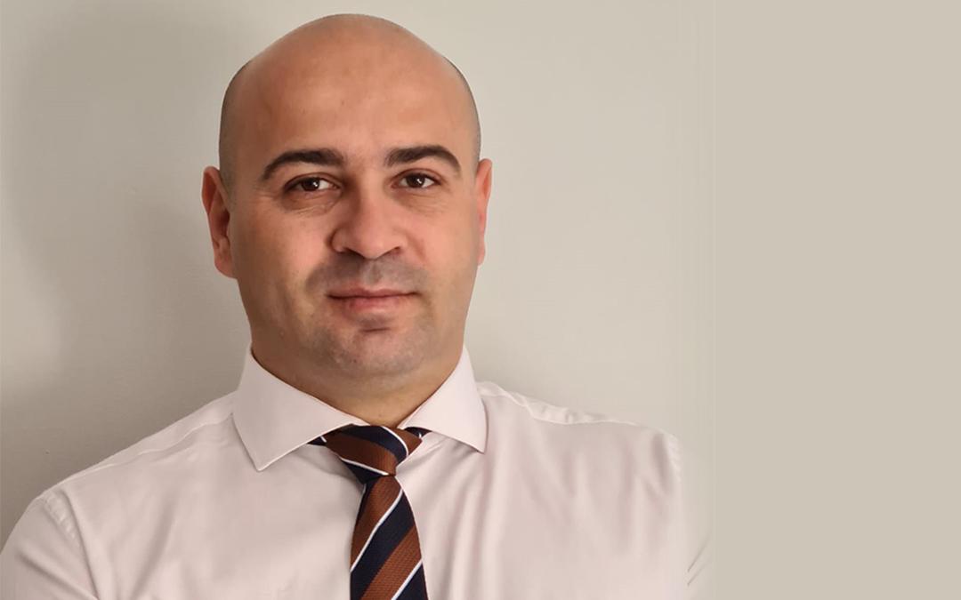 Daniel Cheres, presidente de la Asociación sociocultural Rumanos en el Bajo Aragón./D. Cheres