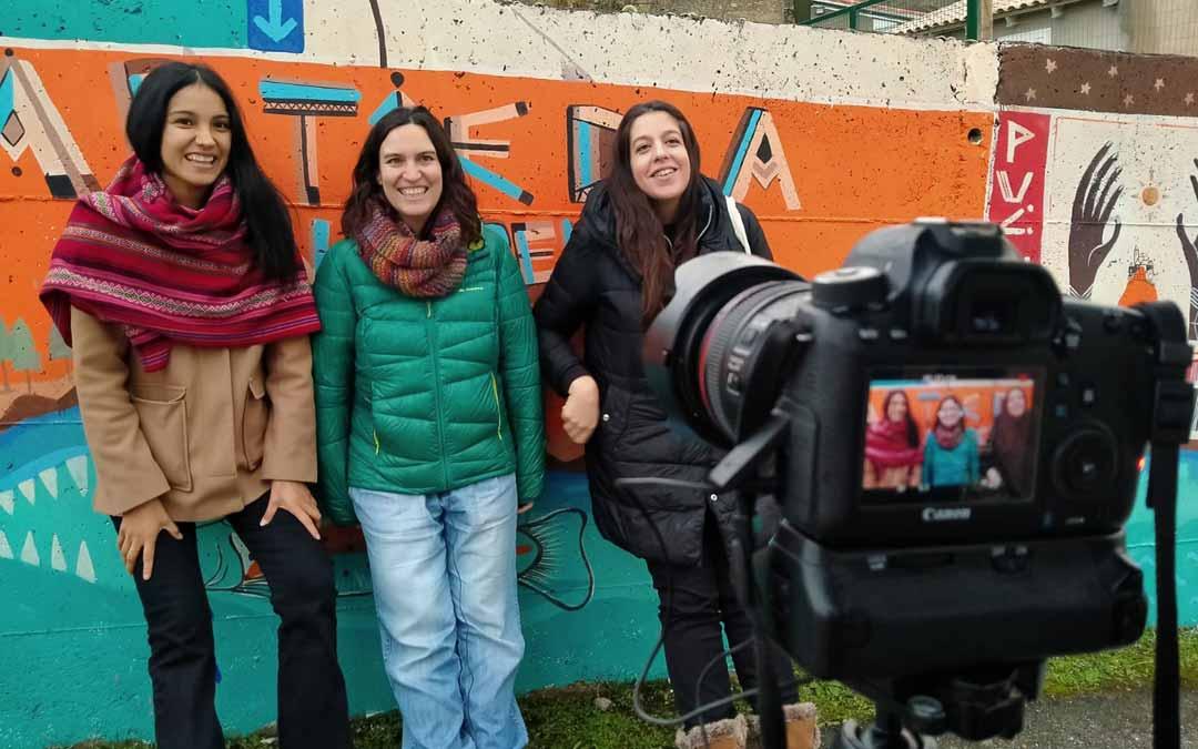 Varias participantes del proyecto de Dinamizadores Rurales.