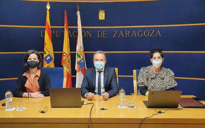 La DPZ aprueba su presupuesto para 2021 con el apoyo del PSOE, En Común-IU, Cs y Podemos-Equo
