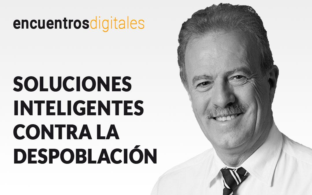 Manuel Campo Vidal, protagonista del encuentro digital 'Soluciones inteligentes contra la despoblación'./ L.C.