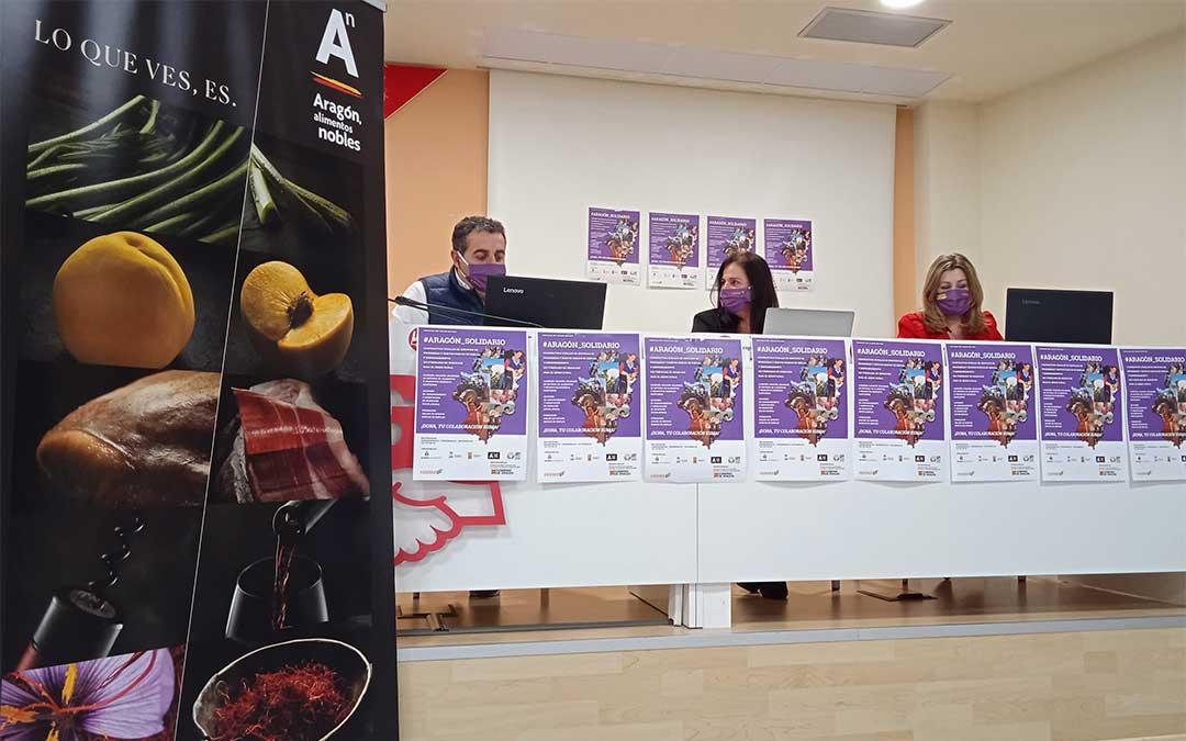 FADEMUR presenta su programa #Aragón _Solidario./ FADEMUR