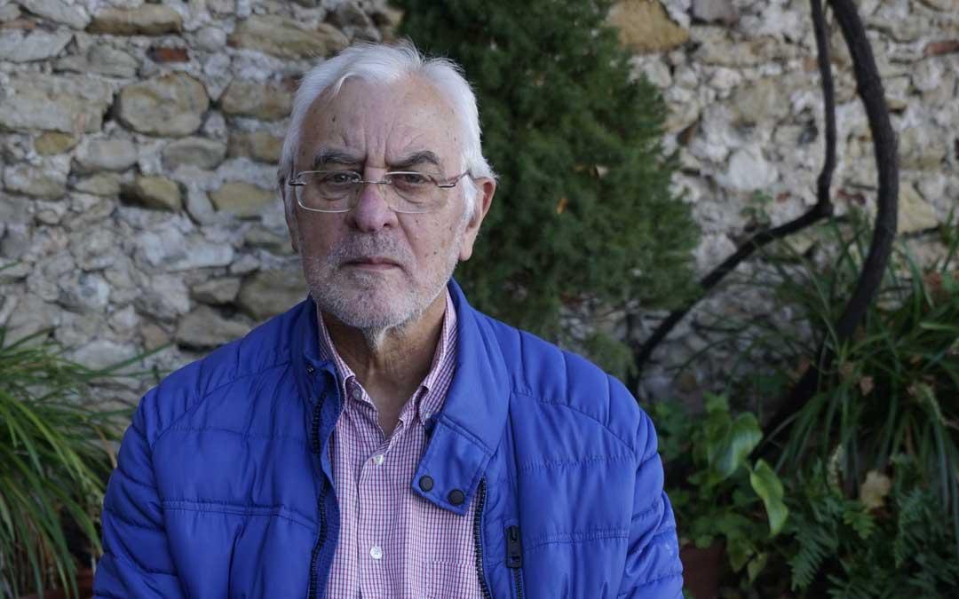 José Ramón Sanchís autor del libro. Foto: CEMAT