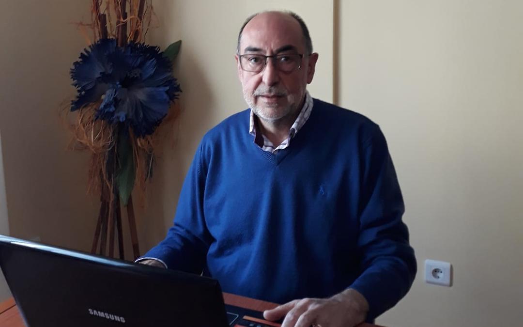 El alcañizano Carlos Alda./ L.C.