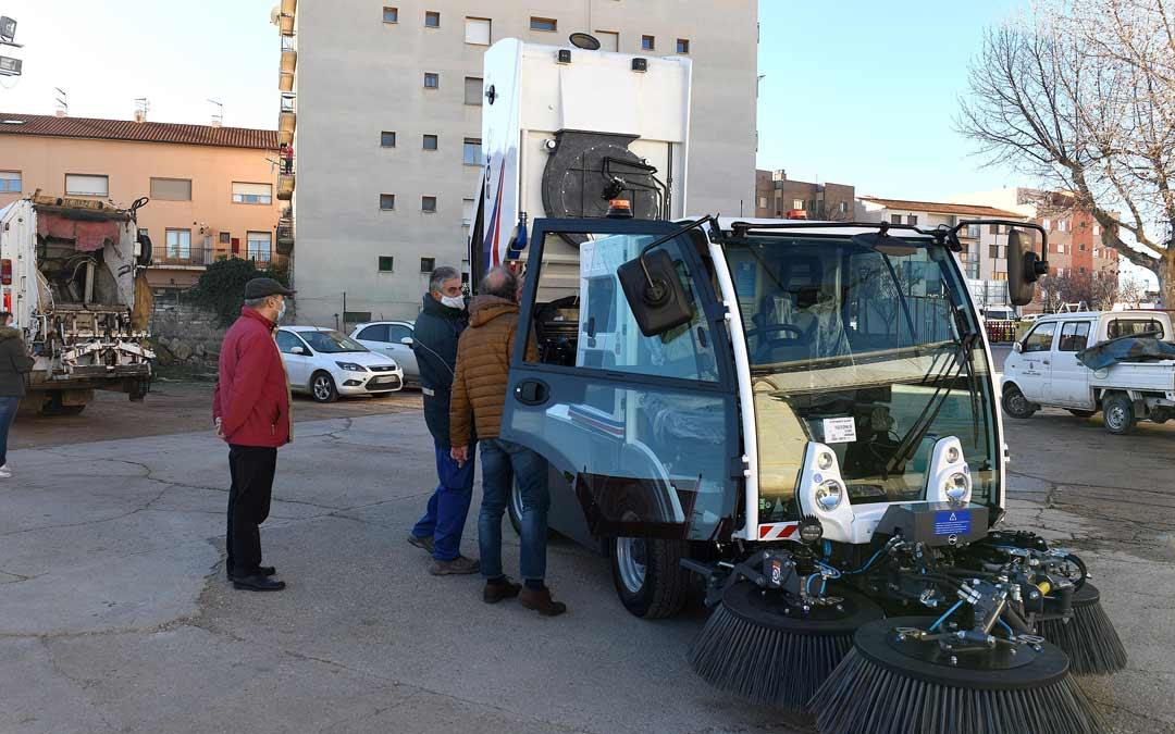 Nueva barredora municipal adquirida por el Ayuntamiento de Alcañiz./Ayto. Alcañiz