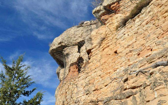 Monroyo consolidará el flanco sur de La Muela