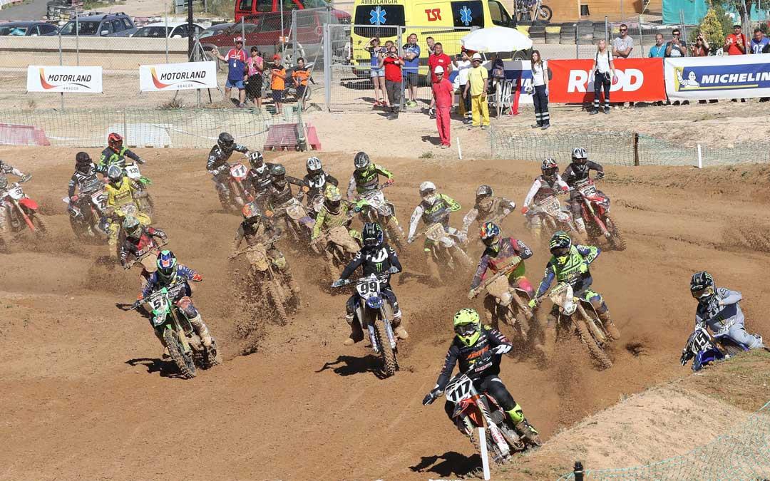 El motocross volverá a Motorland con una cita del nacional en el mes de junio. Foto: L.C.