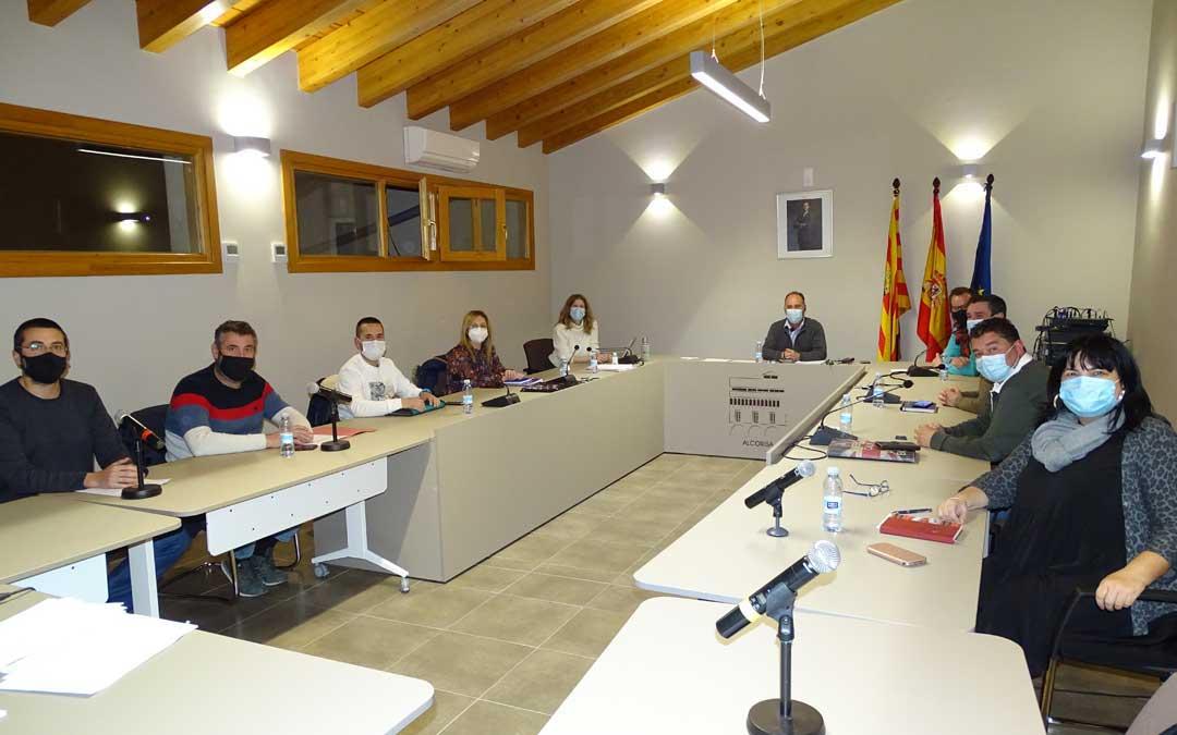 Pleno del Ayuntamiento de Alcorisa en el que se aprobaron los presupuestos / Ayto. Alcorisa
