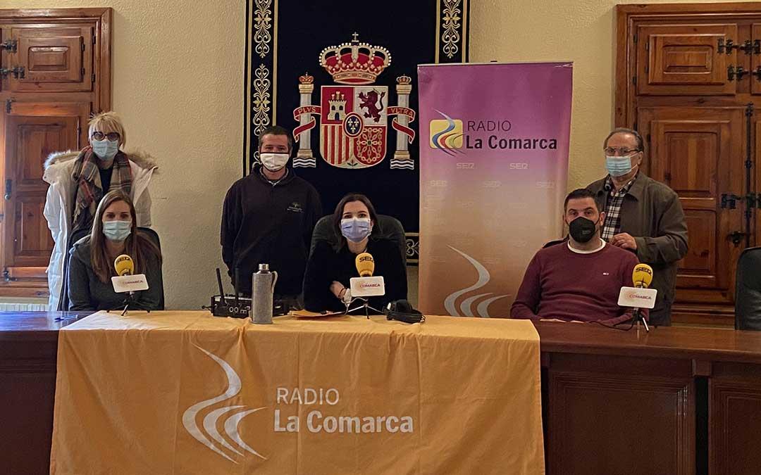 Programa especial desde el Ayuntamiento de Castellote./ L.C.