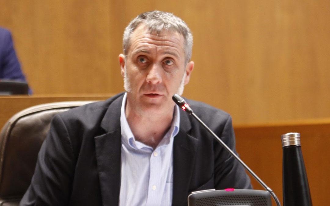 El diputado de Cs por la provincia de Teruel y portavoz en Agricultura, Ramiro Domínguez. Foto: Prensa Aragón