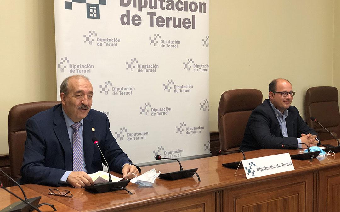 Manuel Rando y Alberto Izquierdo en una foto de archivo. /DPT