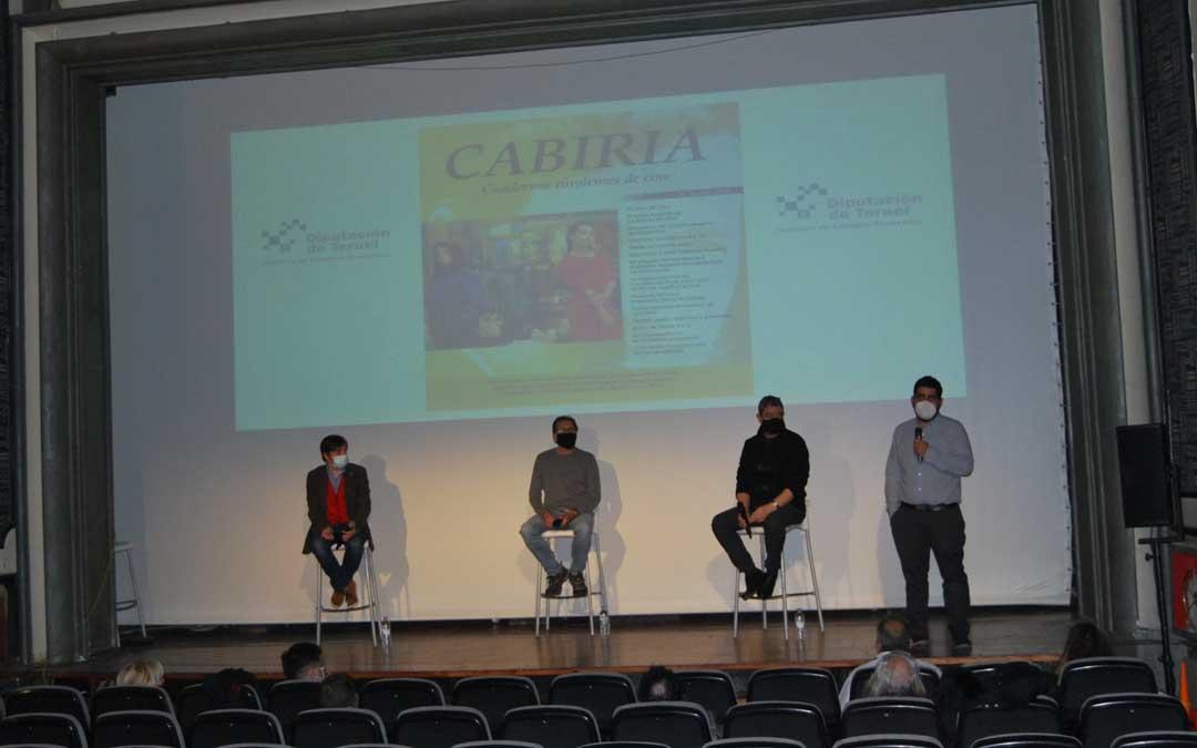 Presnetación del número 14 de la revista 'Cabiria, Cuadernos de Cine Turolenses'
