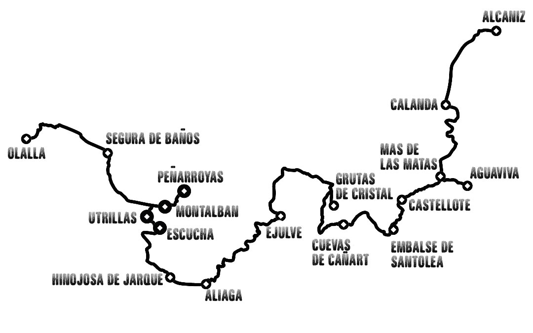 Ruta rincones magicos de Teruel