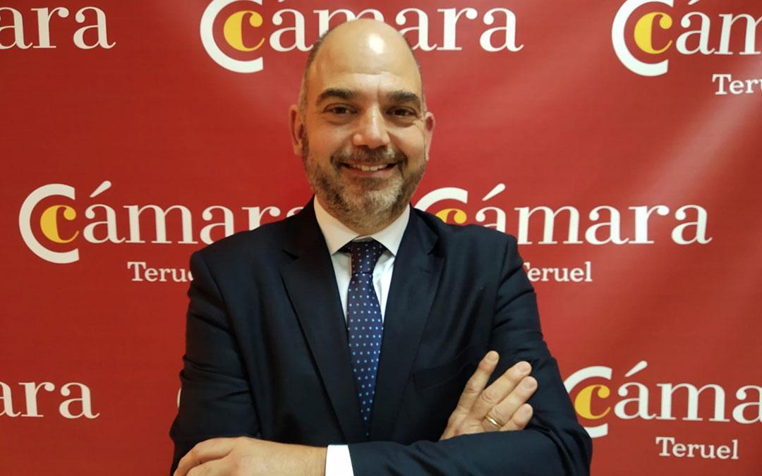 Antonio Santa Isabel, Vicepresidente del Consejo Aragonés de Cámaras y Presidente de la Cámara de Teruel