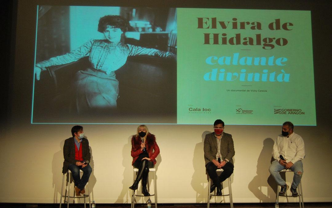 Presentación del documental de Elvira de Hidalgo de Viky Calabria