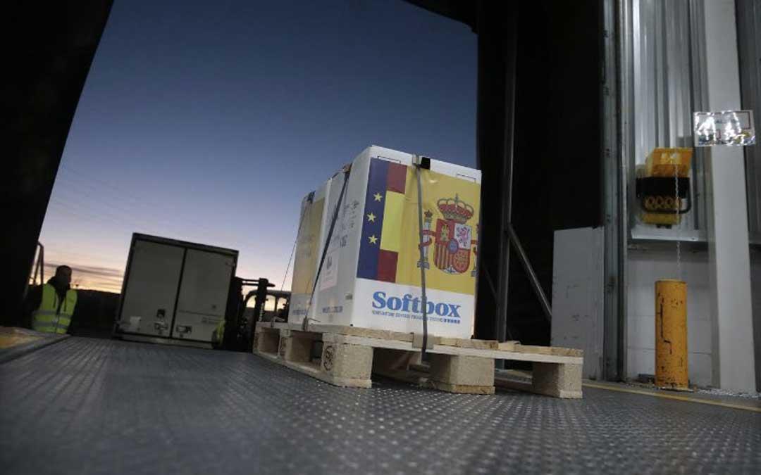 Llegada de la vacuna Pfizer a España / Ministerio de Sanidad