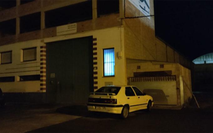 Un aviso vecinal provoca el desmantelamiento de una fiesta de 10 personas en una nave de Alcañiz