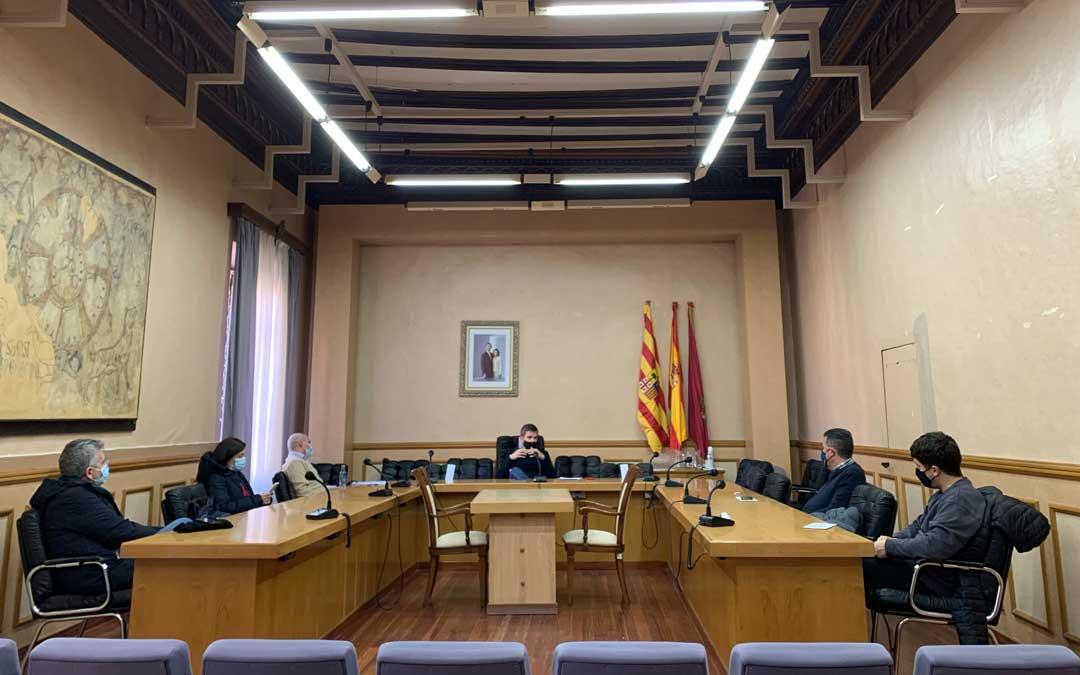 Junta de portavoces de Alcañiz este viernes para informar del confinamiento perimetral de la localidad y solicitar propuestas / Ayto, Alcañiz