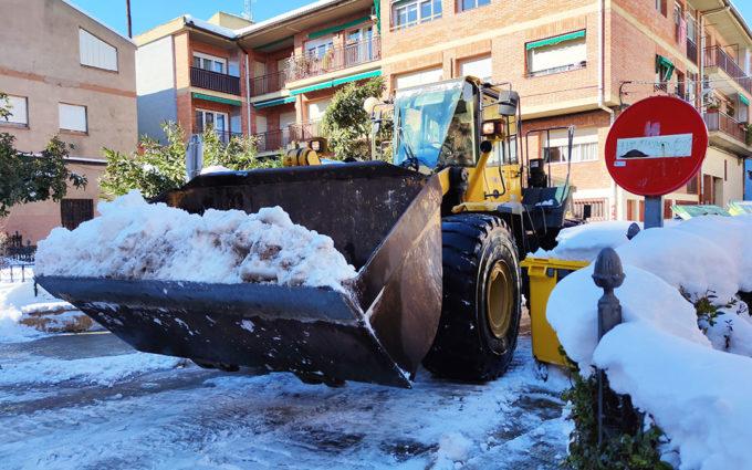 Andorra retira 180 camiones de nieve y continúan los trabajos de limpieza