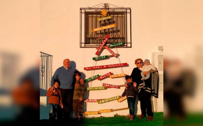 Un árbol de Navidad para sentirse más cerca de Dos Torres de Mercader