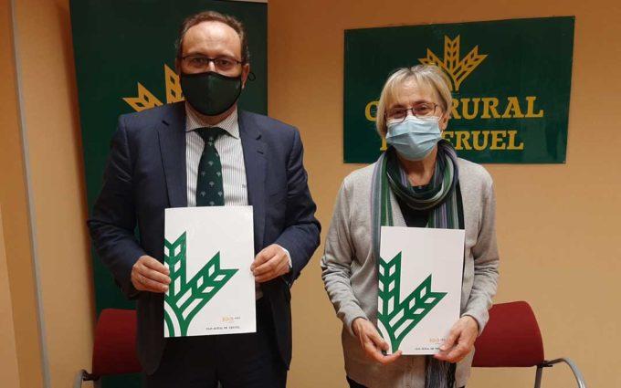 Caja Rural de Teruel renueva su colaboración con la Fundación Quílez Llisterri
