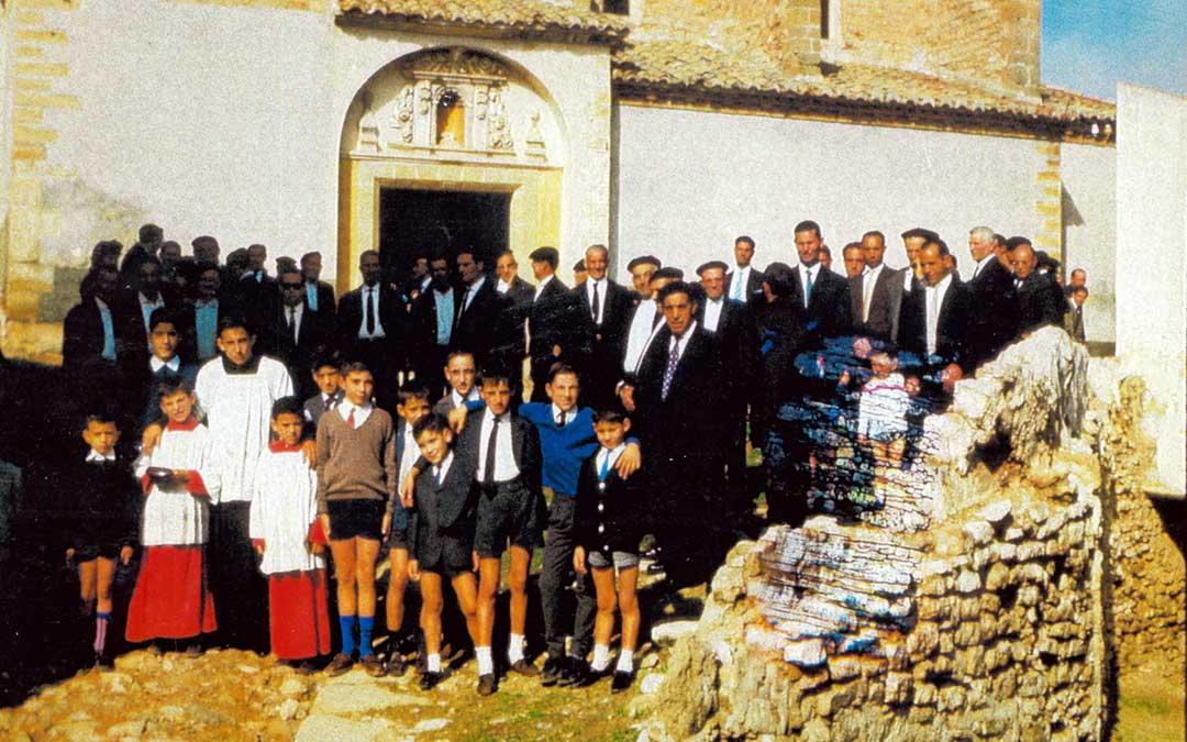 Celebración de San Valero en Castelnou en 1964. / Archivo 'Vive Castelnou'