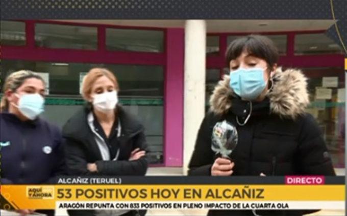 """""""En Alcañiz hay positivos y personas confinadas que salen a la calle. No nos están haciendo caso"""""""