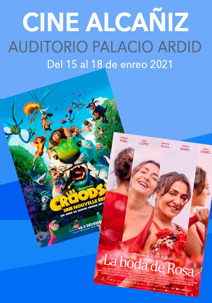 Cine Alcañiz del 15 al 18 de enero