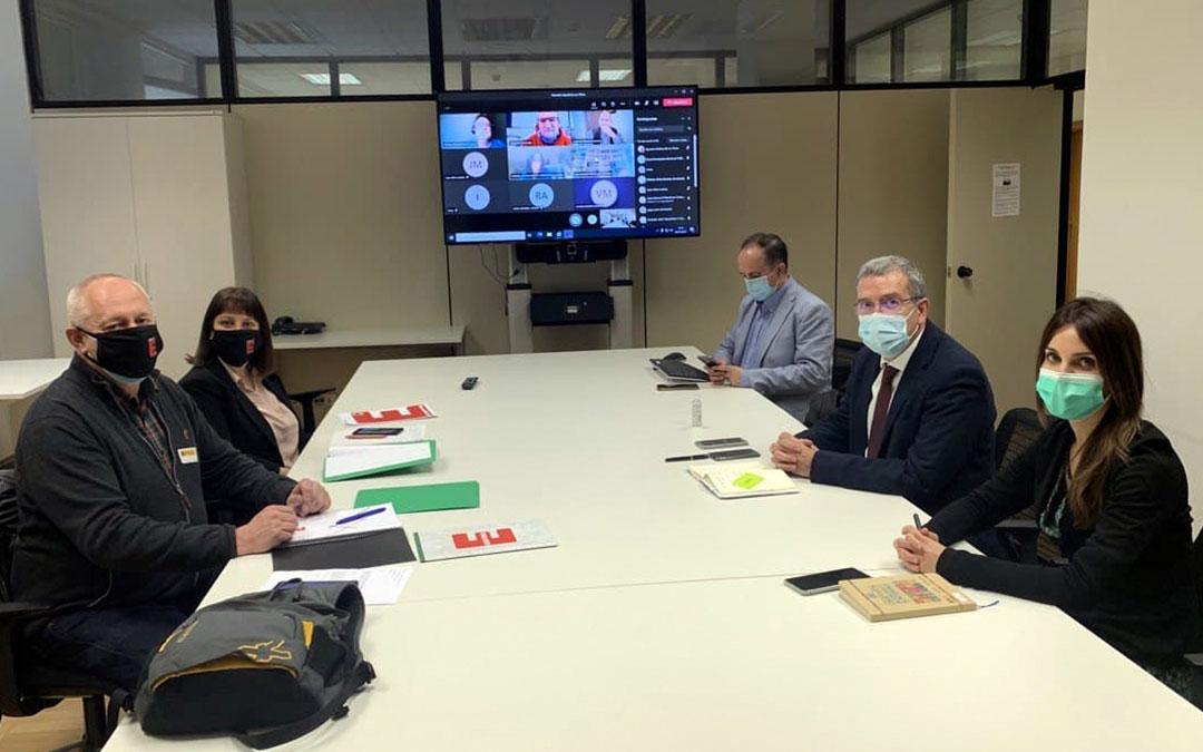 Reunión de la Coordinadora de la España Vaciada y Secretaría de Estado para el Reto Demográfico. / Coordinadora