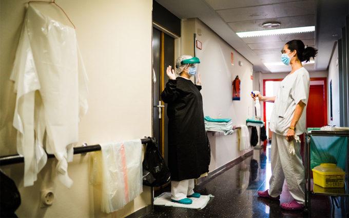 El covid sigue disparado y el Hospital ya le dedica el 50% de su capacidad