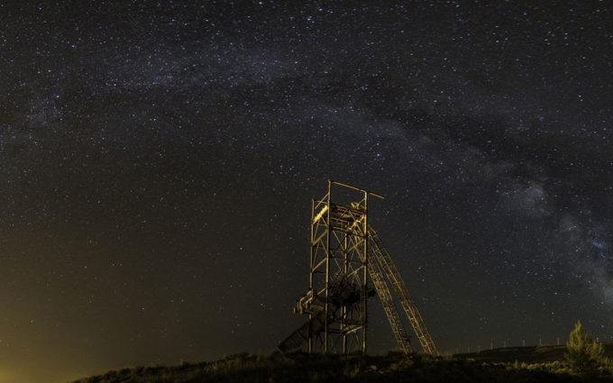La Comarca de Cuencas Mineras creará una red compuesta por 14 miradores astronómicos