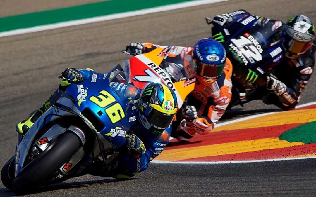 Las motos de competición en un máster de ingeniería del motorsport. Foto: Motorland Aragón